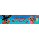 Bing Holograms Happy Birthday inscription 270 cm