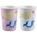 Mermaid, Selling Paper Cup 8 piezas 250 ml