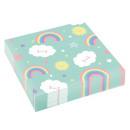 ingrosso Articoli da Regalo & Cartoleria: Tovagliolo Rainbow & Cloud 20 pezzi 33 * 33 cm