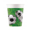 mayorista Regalos y papeleria: Football Party, Focis Paper Glass 8 pcs 200 ml