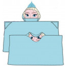 Hooded Duvert poncho Disney frozen