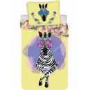 Pościel Zebra 140 × 200 cm, 70 × 90 cm
