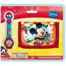 Digitaal horloge + portemonnee Disney Mickey