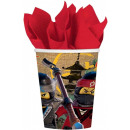 LEGO Ninjago paper cup 8 pieces 250 ml