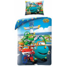 Super Wings bed sheets 140 × 200cm, 70 × 90 cm