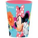 Disney Minnie glass, plastic 260 ml