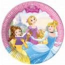 Disney Princess , Princess Paper plate 8 pcs