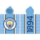 Manchester City FC towel poncho 60 * 120cm