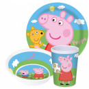 Peppa pig tableware, melamine set