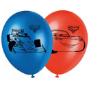 Disney Cars , Verdák Balloon, balloons 8 pcs