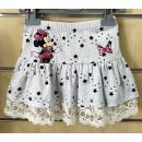 Kid's Ruffled Skirt for Disney Minnie 98-134 c