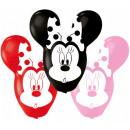Disney Minnie léggömb, lufi 4 db-os