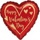 Happy Valentine's Day Foil Balloons 43 cm