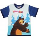 Kinderen T-shirt, top Masha en de Beer 92-116cm