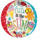 Summer, Summer Sphere Foil Balloons 40 cm