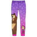 Thick leggings Masha and the Bear 98-128 cm