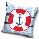 Anchors, Iron Cat pillowcase 40 * 40 cm