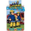 Linens Fireman Sam, Sam the fire 140 × 200cm