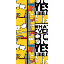 The Simpson family bath towel, towels 70 * 140cm