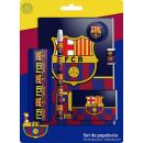 Conjunto de  papelería (7  piezas) FCB, FC ...