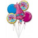 Trolls , Trolls Foil balloons set of 5 pieces