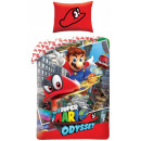 Super Mario bed sheets 140 × 200cm, 70 × 90 cm