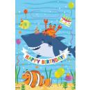 mayorista Papel regalo: Bolsa de regalo Ocean, Ocean con 8 piezas.