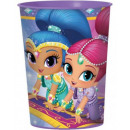 Shimmer and Shine glass, 473 ml plastic