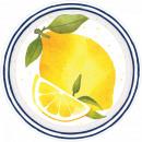 Lemon, Lemon Paper Plate with 8 pcs 17.8 cm