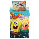 Pościel SpongeBob 140 × 200 cm, 70 × 90 cm