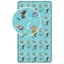 Fitted Sheet Paw Patrol , Paw Guard 90 * 200 cm