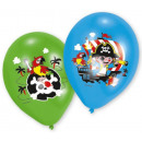 Pirate, Pirate Balloon, Balloons 6pcs