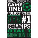 Football Goal, Soccer Tablecloth 137 * 259 cm