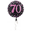 wholesale Party Items: Happy Birthday 70 Foil balloons 45 cm
