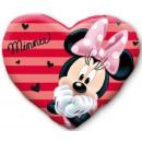 Poduszka pluszowa Disney Minnie kształcie serca