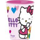 Hello Kitty glass, plastic 260 ml
