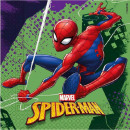 Spiderman , Spiderman Napkin 20 Pieces