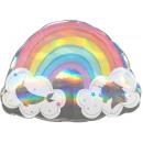 Holographic Rainbow, Rainbow Foil Balloons 71 cm