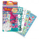 Trolls sticker and decoration template set