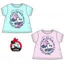 DisneyMinnie baby t-shirt, top 6-24 snow