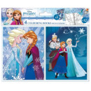 Colorable Notebook Stickers with Disney frozen