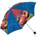 Kids Folding Umbrella Disney Cars , Verdas