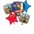 Paw Patrol , Paw Patrol Foil Balloons 5 Piece Set