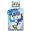 The bed linen of the penguins of Madagascar is 140