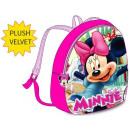 Plüsch Rucksack Tasche Disney Minnie 32cm