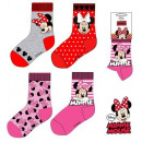 nagyker Licenc termékek: Gyerek zokni Disney Minnie 23-34