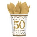50. Anniversary, Wedding Anniversary Paper Cup