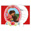 grossiste Articles sous Licence: Disney Elena d'Avalor Party Invitation 6 pcs