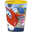 nagyker Licenc termékek: Super Wings pohár, műanyag 260 ml