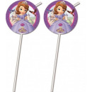 Disney Sofia , Sofia straw, 6 pcs set